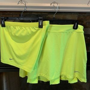 Nike two piece skirt & shorts